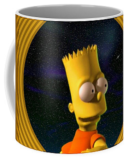 3d Bart Simpson Coffee Mug