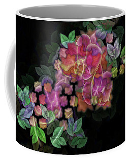 3d Orchids Coffee Mug