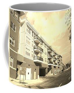3rd Street Columbus Indiana - Sepia Coffee Mug