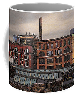 Coffee Mug featuring the digital art 3rd Ward Condos by David Blank