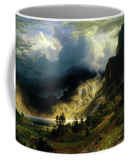 A Storm In The Rocky Mountains Coffee Mug