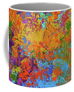 Abstract Painting Modern Art Contemporary Design Coffee Mug