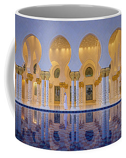 Coffee Mug featuring the photograph Abu Dhabi by Milena Boeva