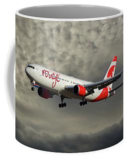 Air Canada Rouge Boeing 767-333 116 Coffee Mug
