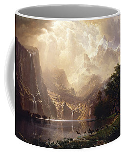 Among The Sierra Nevada, California Coffee Mug