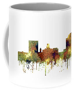 Augusta Georgia Skyline Coffee Mug by Marlene Watson