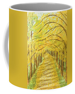 Autumn Landscape, Painting Coffee Mug by Irina Afonskaya