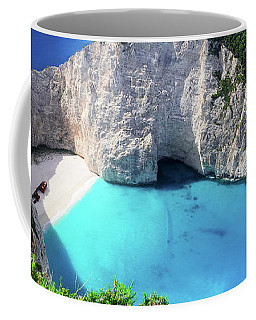 Navagio Beach II Coffee Mug