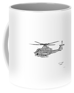 Bell Helicopter Uh-1y Venom Coffee Mug by Arthur Eggers