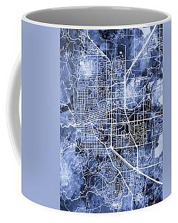 Boulder Colorado City Map Coffee Mug