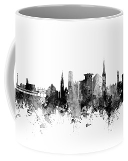 Bournemouth England Skyline Coffee Mug