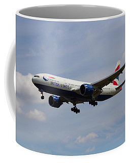 British Airways Boeing 777 Coffee Mug
