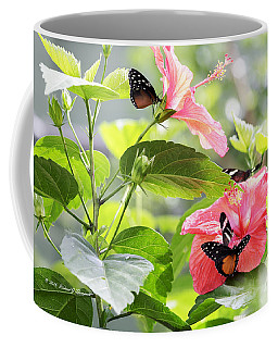 Cream-spotted Clearwing Butterfly Coffee Mug