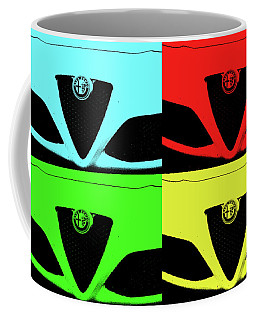 4 C Pop Coffee Mug by John Schneider