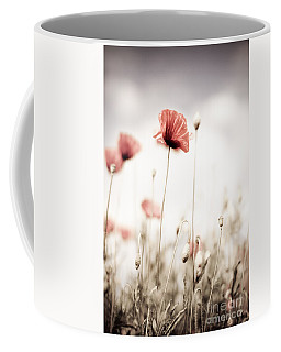 Corn Poppy Flowers Coffee Mug