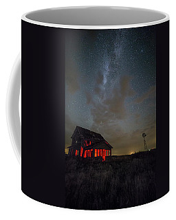 Coffee Mug featuring the photograph Dark Place  by Aaron J Groen