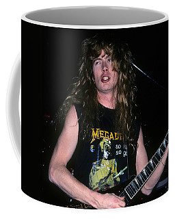 Dave Mustaine Of Megadeth Coffee Mug