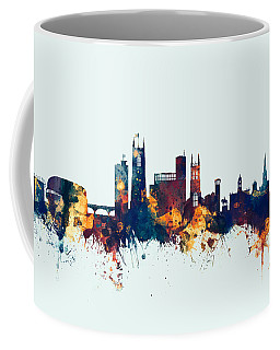 Derby England Skyline Coffee Mug