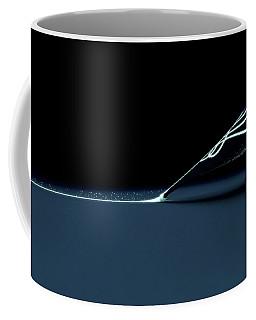 Fountain Pen Drawing Luminous Line Coffee Mug