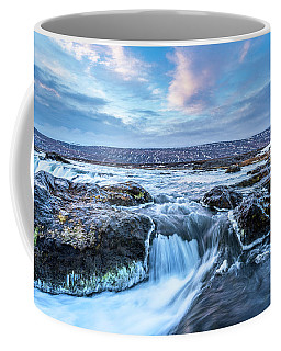 Godafoss Waterfall In Iceland Coffee Mug by Joe Belanger