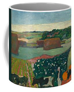 Haystacks In Brittany Coffee Mug