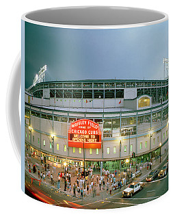 High Angle View Of Tourists Coffee Mug