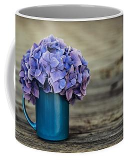Hortensia Flowers Coffee Mug