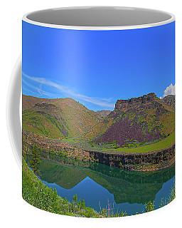 Coffee Mug featuring the photograph Idaho Landscape by Dart Humeston