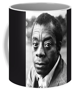 Coffee Mug featuring the photograph James Baldwin by Granger