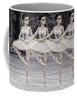 4 Little Swans Coffee Mug