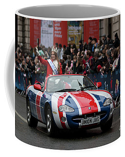 London New Years Day Parade 2017 Coffee Mug by Roger Lighterness