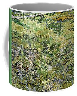 Long Grass With Butterflies Coffee Mug