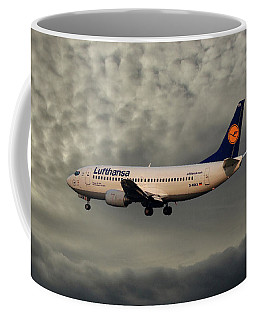 Lufthansa Boeing 737-300 Coffee Mug