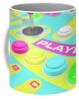 Luminous Arcade Control Panel  Coffee Mug