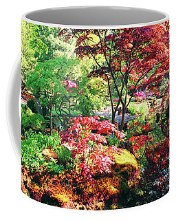 Coffee Mug featuring the photograph Nature Background Panorama by Ariadna De Raadt