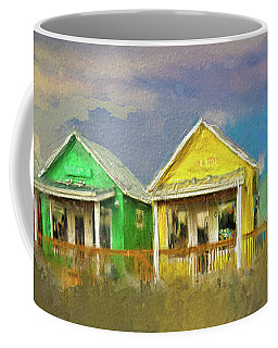 Coffee Mug featuring the digital art 4 Of A Kind by Dale Stillman