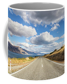 On  The Road In New Zealand Coffee Mug