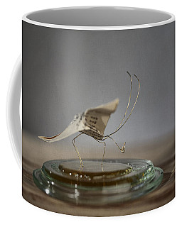 Paper Butterfly Coffee Mug