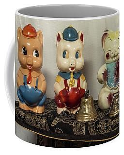 4 Pigs Go To Market Coffee Mug