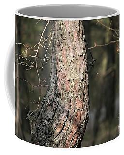 Pine Tree Coffee Mug by Dariusz Gudowicz