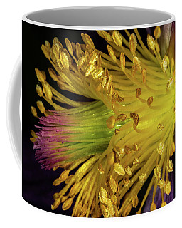 Purple And Yellow Coffee Mug