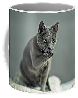 Russian Blue Coffee Mug