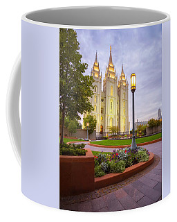 Coffee Mug featuring the photograph Salt Lake Temple by Dustin  LeFevre