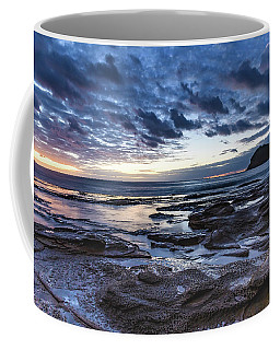 Seascape Cloudy Nightscape Coffee Mug