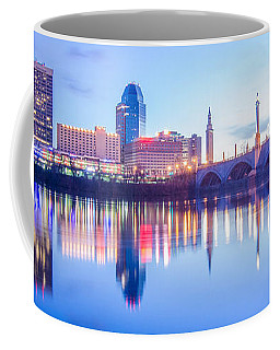 Springfield Massachusetts City Skyline Early Morning Coffee Mug