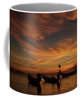 Sunrise On Koh Tao Island In Thailand Coffee Mug
