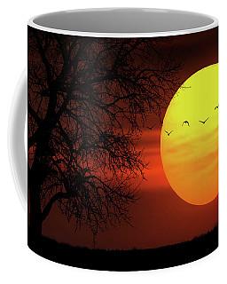 Sunset Coffee Mug by Bess Hamiti