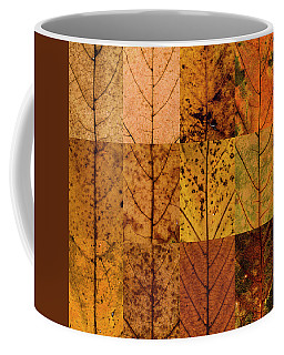 Swatches - Autumn Leaves Inspired By Gerhard Richter Coffee Mug