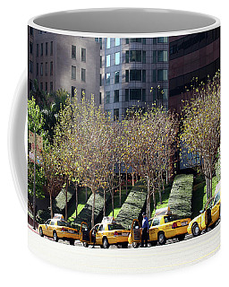 4 Taxis In The City Coffee Mug
