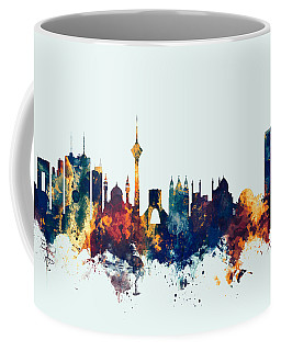 Tehran Iran Skyline Coffee Mug